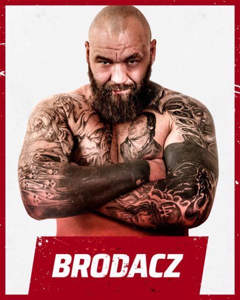 Uczestnik turnieju GROMDA - Brodacz