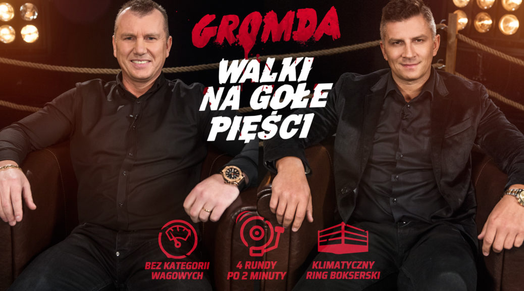 GROMDA Fight Club - Mateusz Borek i Mariusz Grabowski