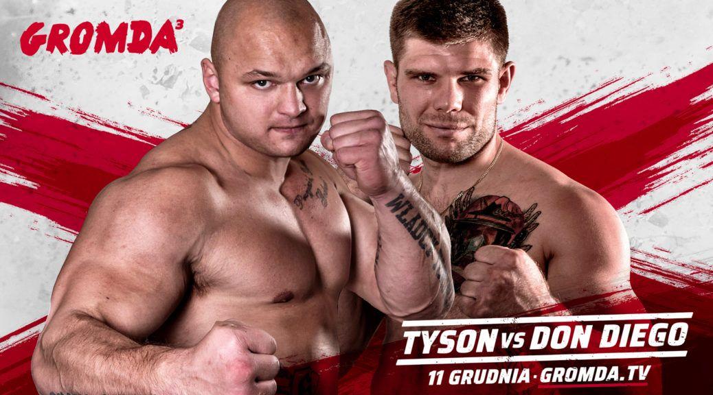 GROMDA 3: TYSON vs DON DIEGO. Wielki finał turnieju walk na gołe pięści